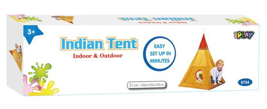 iPlay Stan Indiánský 100x100x135 cm