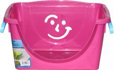 Mazzei Úložný box Fancy 1 ružový