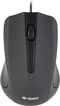 Yenkee USB myš Suva čierna (YMS 1015BK)