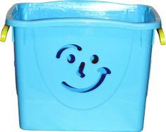 Mazzei Pojemnik na zabawki Fancy 2, niebieski