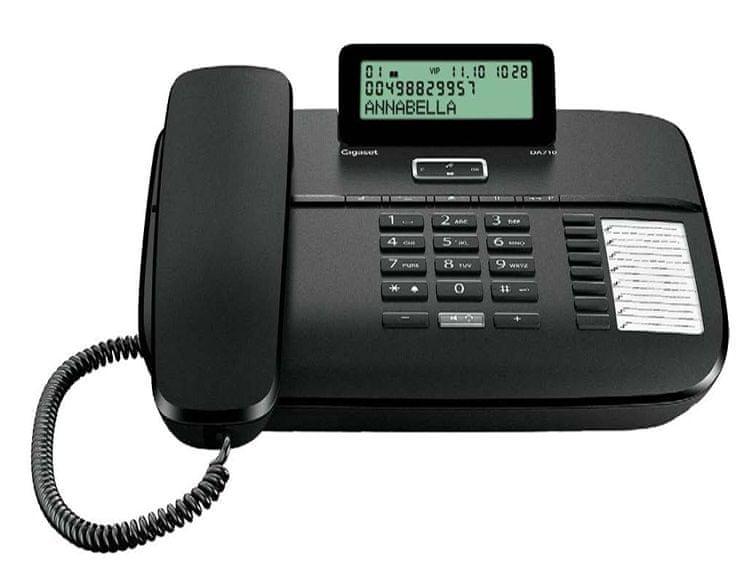 Gigaset DA710, Black - rozbaleno