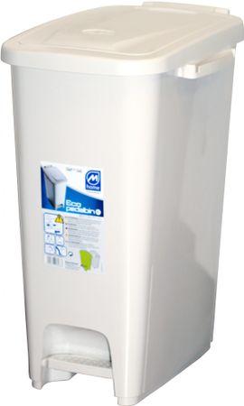 Mazzei Kosz na odpady Ecopedalbin 27 l, biały