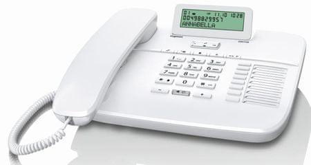 Gigaset telefon stacjonarny DA710, biały