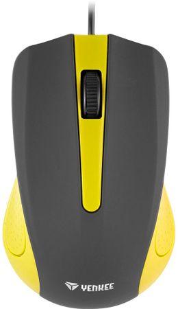 Yenkee USB mysz Suva żółta (YMS 1015YW)