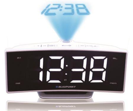 Blaupunkt radioura CRP7WH s projekcijo - Odprta embalaža