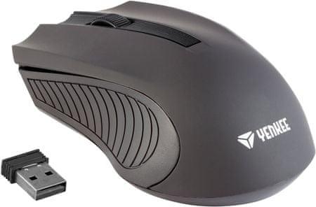 Yenkee mysz bezprzewodowa MONACO czarna (YMS 2015BK)