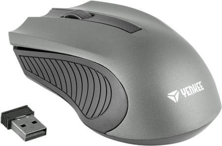 Yenkee Bezdrôtová myš MONACO šedá (YMS 2015GY)