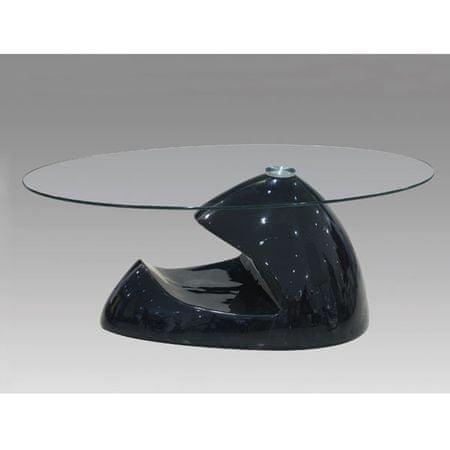 Klubska miza Tinja, črna