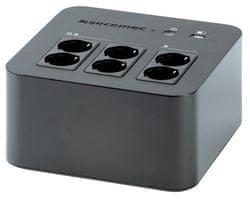 Socomec UPS NeTYS PL 600VA, USB, črn