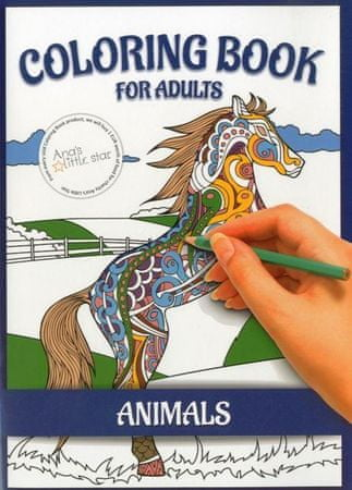 Coloring book for adults - Animals