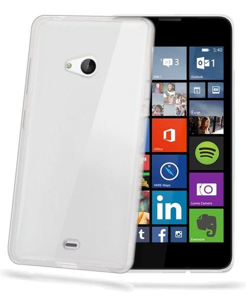 Celly pouzdro Gelskin, Lumia 540 / 540 Dual SIM, čiré