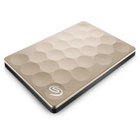 Seagate prenosni disk BackupPlus 2,5 USB 3.0, zlat, Ultra slim