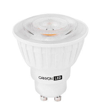Canyon LED žarnica, GU10, 7,5 W, 2700 K