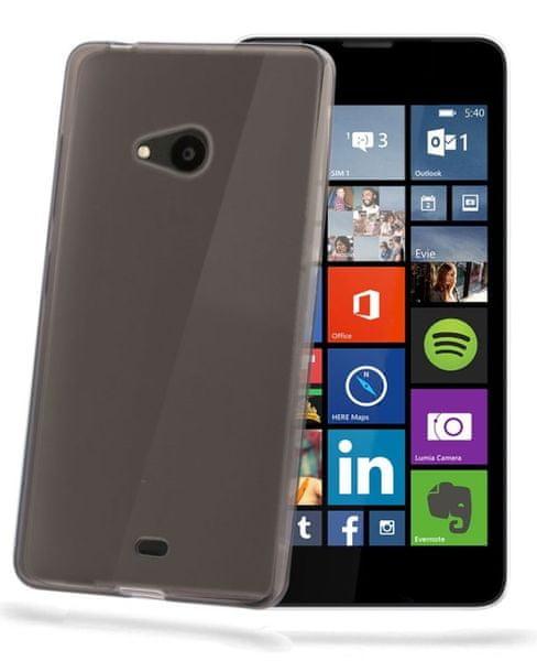 Celly pouzdro Gelskin, Lumia 540 / 540 Dual SIM, černé