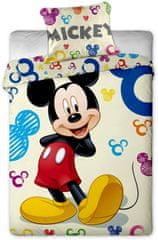 Jerry Fabrics Posteljina, 140 x 200 cm, Mickey & Minni