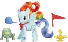 My Little Pony Poník s kamarátom a doplnkami – Rainbow Dash