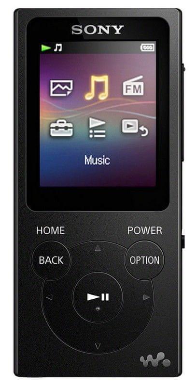 Sony NW-E393B / 4GB, černá