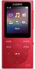Sony NW-E394R / 8GB, červená