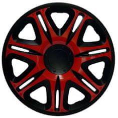 """Jacky 13"""" NASCAR GT RED Dísztárcsa garnitúra, 4 db"""