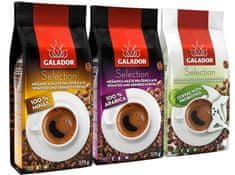 Galador kava Platinum Mix, 100% Arabica 375 g + 100% Minas 375 g + kava s probiotikom