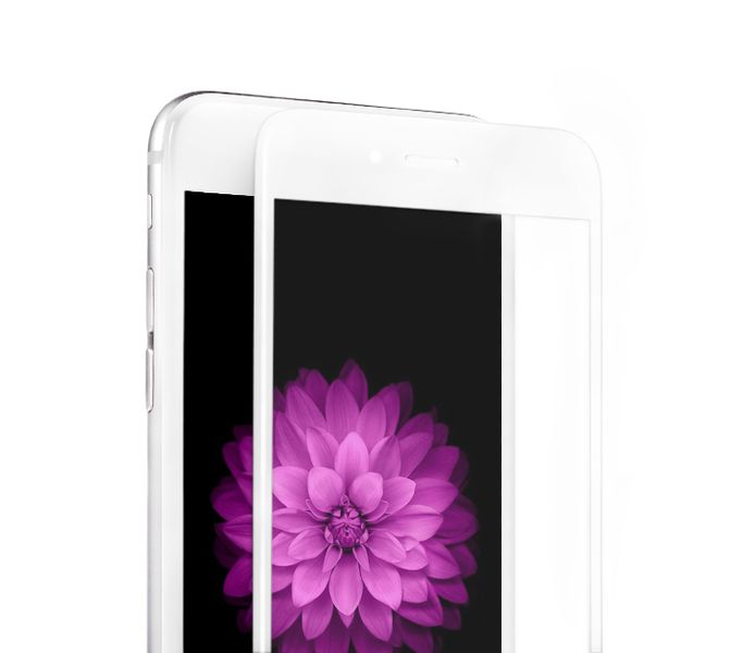 EPICO Ochranné tvrzené sklo, iPhone 6/6S, GLASS 3D, bílé