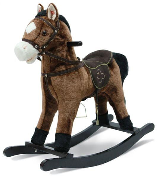 Bayer Chic Kůň houpací se zvuky tmavý