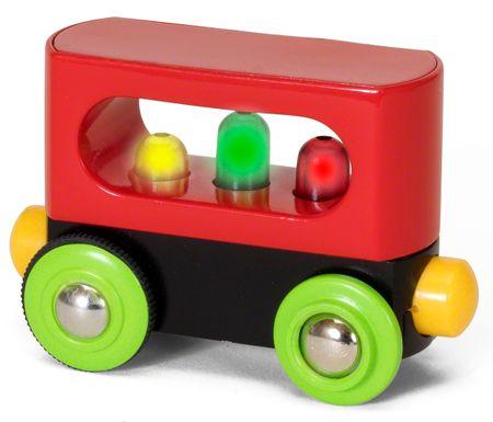 Brio Mój pierwszy wagon ze światłem 33708
