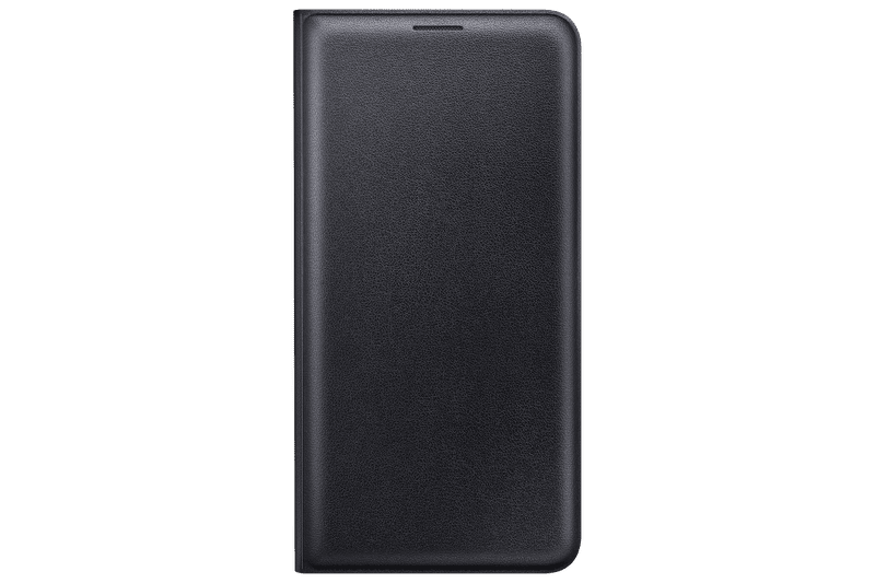 Samsung flip EF-WJ710 Galaxy J7, černý - II. jakost