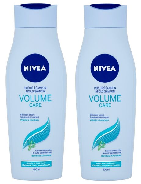 Nivea Šampon Volume Sensation 400ml, 2ks