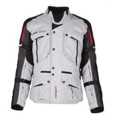 Modeka Ventura GT motoristična jakna, črna/svetlo siva