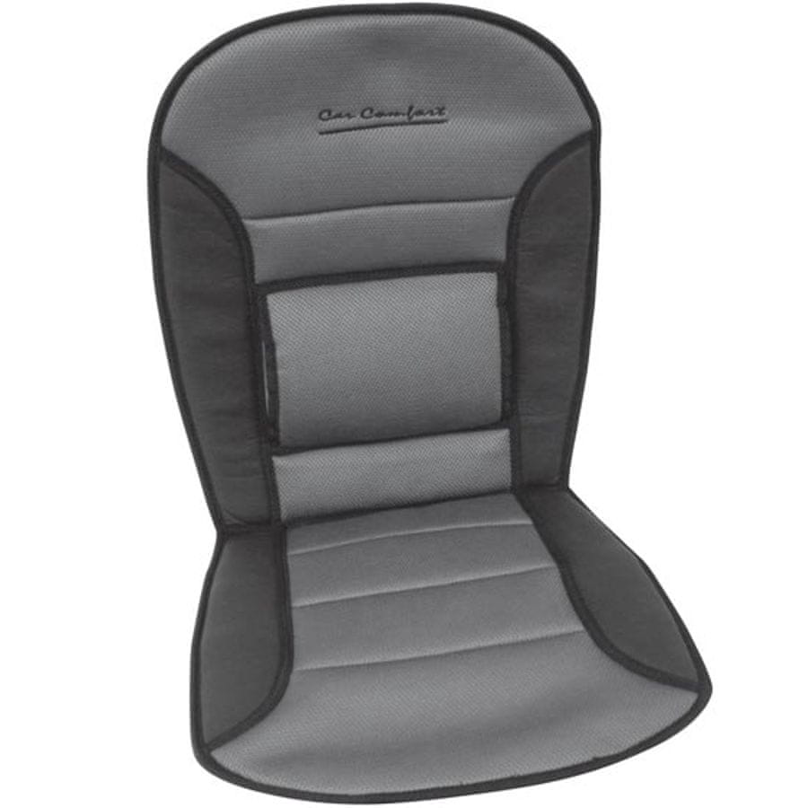 CarPoint Podložka na sedadlo Comfort čierna/sivá (323276)
