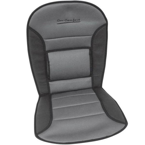 CarPoint Podložka na sedadlo Comfort černá / šed
