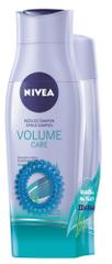 Nivea Šampon 250 ml + kondicionér 200 ml Volume Care + gumička