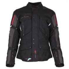 Modeka Ventura GT motoristična jakna, črna/temno siva