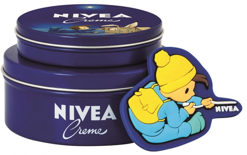 Nivea Krém 250ml + krém 75ml + pohádková magnetka kluk