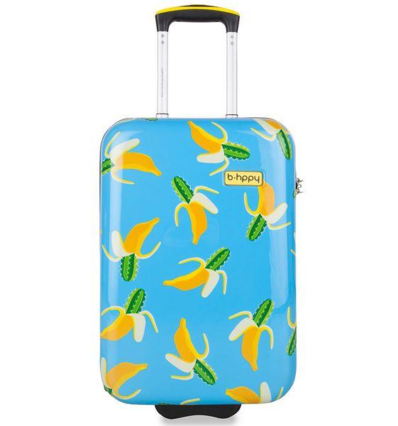"""REAbags Cestovní kufr B.HPPY Bananauwch! """"S"""""""