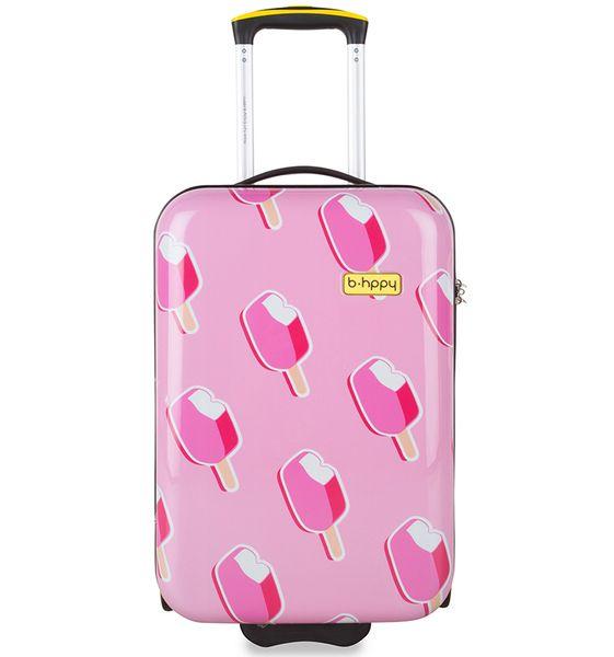 """REAbags Cestovní kufr B.HPPY Ice on Holiday """"S"""""""