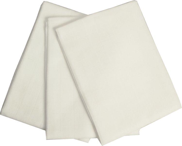 Haton Bavlněné látkové pleny 70 x 70 cm, bílé 6 ks