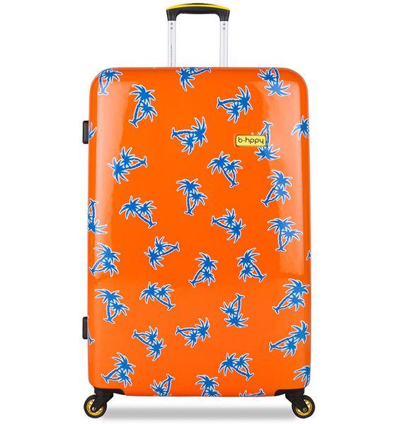"""REAbags Cestovní kufr B.HPPY GoGoNuts """"L"""""""