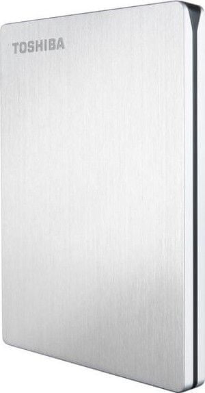 "TOSHIBA Canvio Slim II Mac 1TB / Externí / USB 3.0 / 2,5"" / Silver (HDTD210ESMEA)"