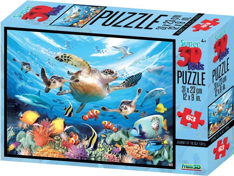 Lamps 3D Puzzle Moře 63 dílků