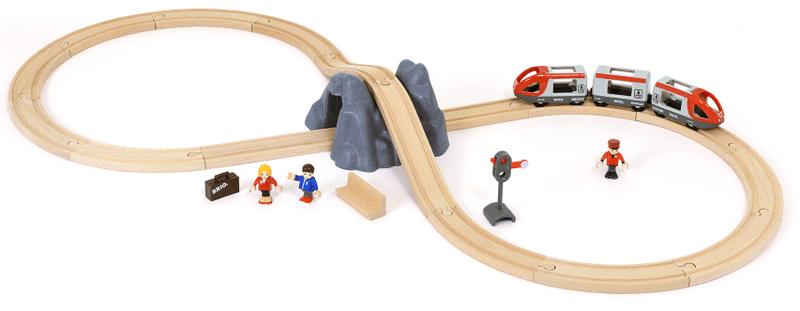 Brio Základní vláčkodráha osmička s tunelem
