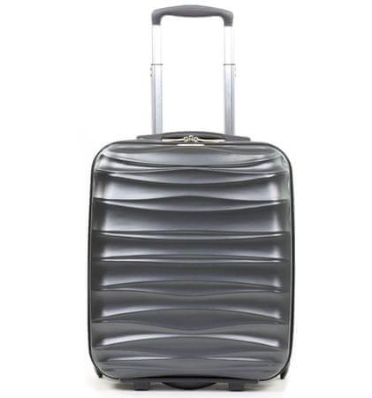 MEMBER´S Cestovný kufor  TR-0117/3-50 PET strieborná