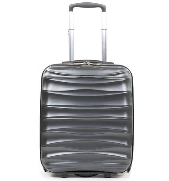 Member's Cestovní kufr TR-0117/3-50 PET stříbrná