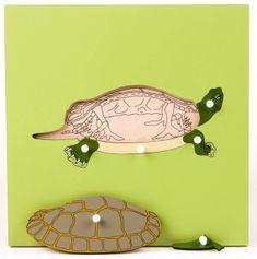 Montessori sestavljanka - želva