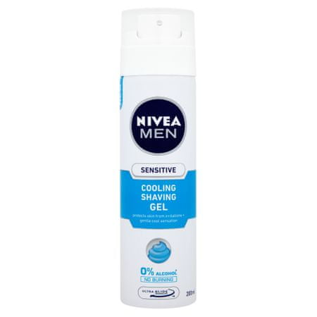 Nivea gel za britje Sensitive Cooling
