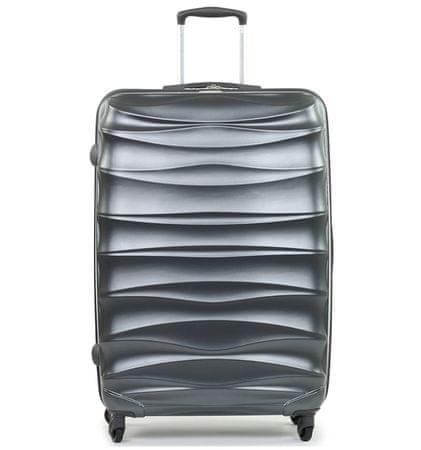 MEMBER´S Cestovný kufor TR-0117/3-60 PET strieborná