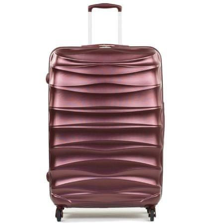 Member's Cestovní kufr TR-0117/3-60 PET vínová
