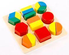 Montessori geometrijski pladenj