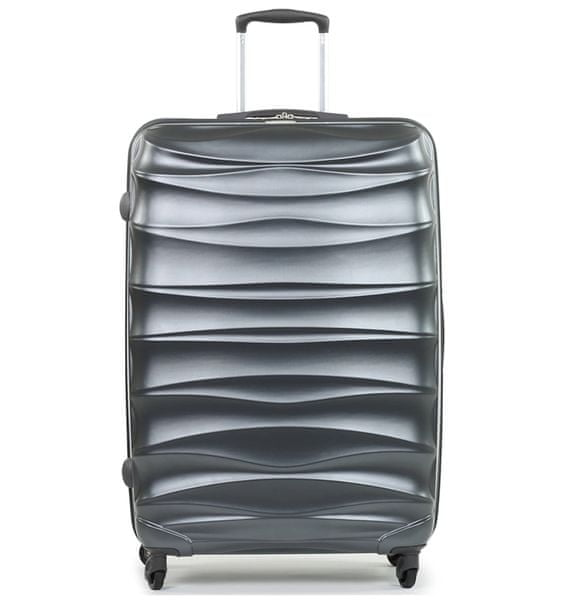 Member's Cestovní kufr TR-0117/3-70 PET stříbrná